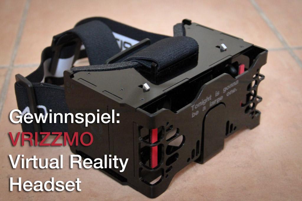 Gewinnspiel: VRIZZMO VR Headset