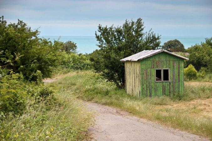 Die einsame Hütte in Obzor, Bulgarien