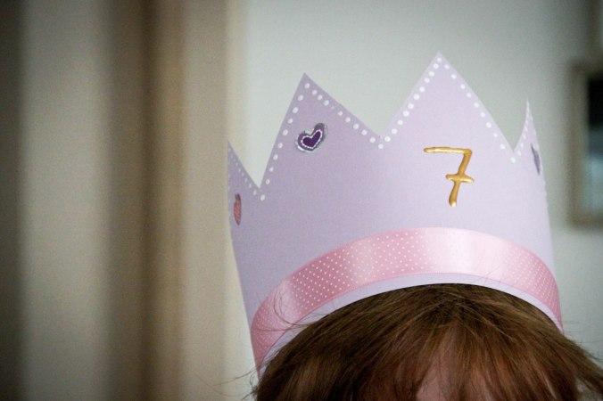 7. Geburtstag: Krone