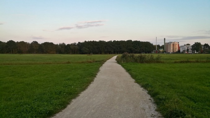 Run, Fatboy, Run (359): Querfeldein...