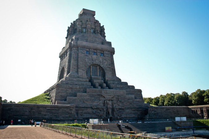 Das Völkerschlachtdenkmal in Leipzig