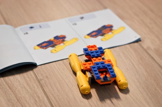 Es wurde Lego gebaut und gebaut...