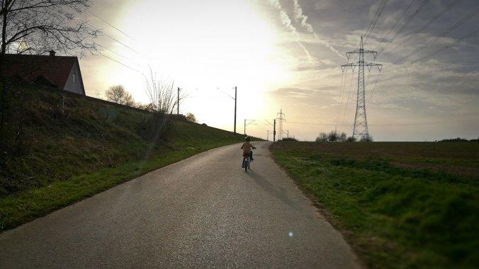 Wir reiten in den Sonnenuntergang...
