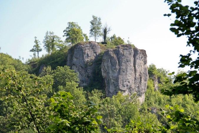 Die Burgruine Streitberg