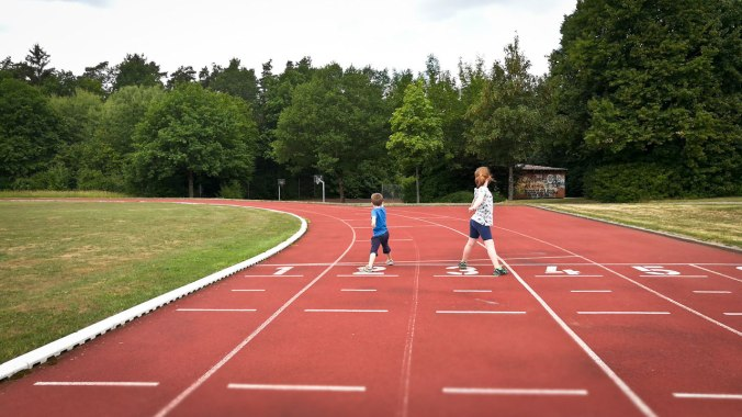 Intervalltraining mit den Kids