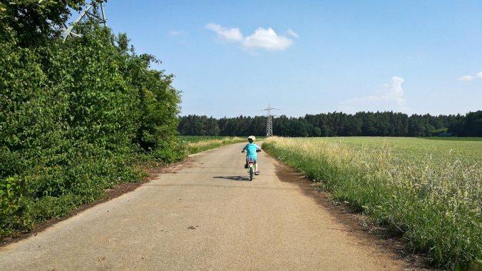 Laufen mit der besten Begleitung... :)