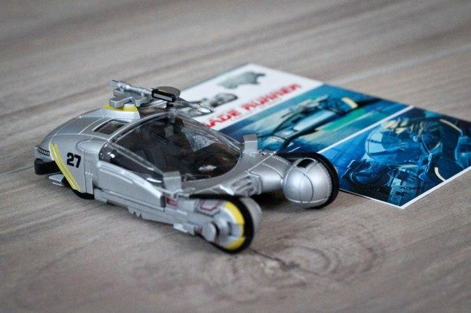 Das Modell des Spinners ist aus Plastik, sieht aber dennoch recht originalgetreu aus