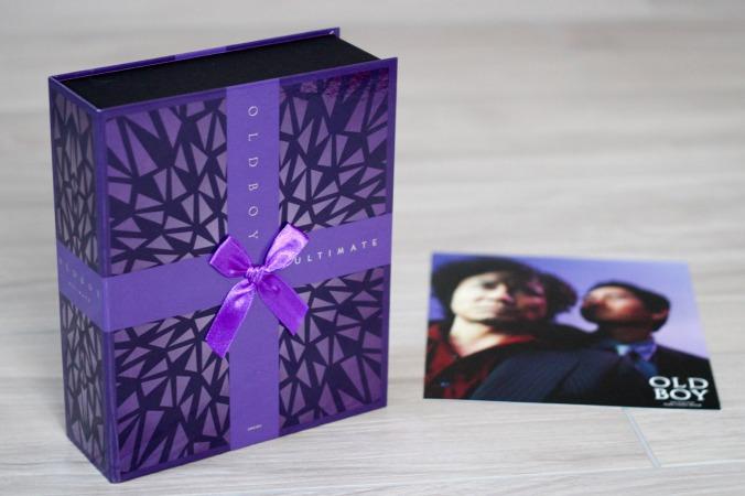 """Die Ultimate Edition von """"Oldboy"""" kommt in einer schön gestalteten Box"""