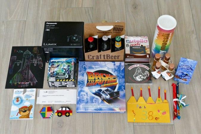 Viele tolle Geschenke... :)