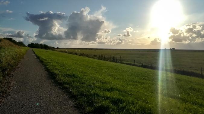 Ein letzter, windiger Lauf im hohen Norden...