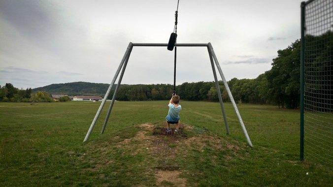 Die letzte Seilbahnfahrt vor dem ersten Schultag... :)