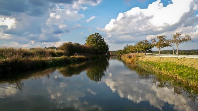 Herrlichstes Herbstwetter auf der weltbesten Laufstrecke... :)