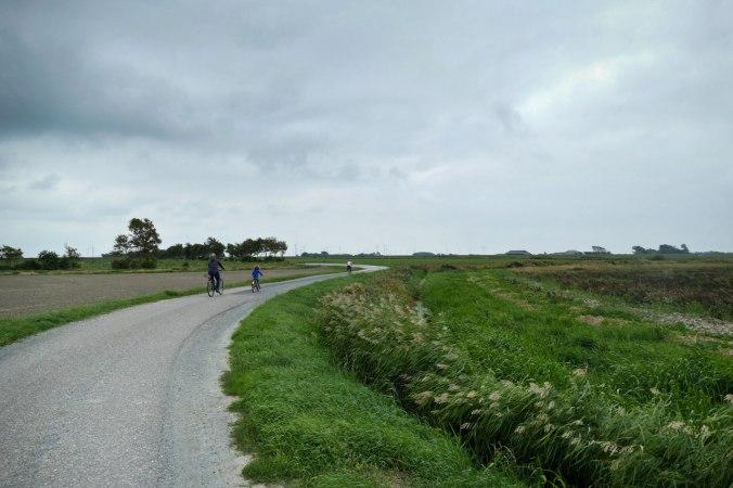 Mit drei tapferen Radlern durch Norddeutschland