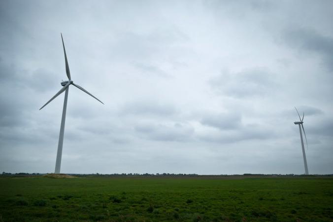 Windräder prägen das Bild der Landschaft