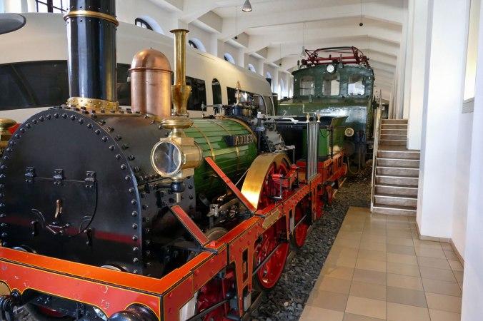 Der Ader: Ein Nachbau der ersten kommerziell eingesetzten Eisenbahn