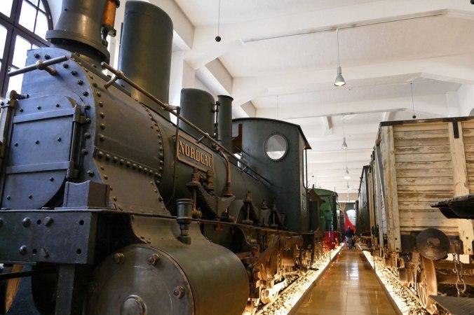 Das Eisenbahnmuseum lädt Kinder dazu ein, viel Schabernack zu treiben...