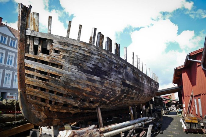 ...im Schifffahrtsmuseum in Flensburg