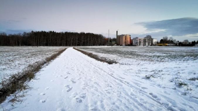 Der erste Lauf der Saison 2018/2019 im Schnee! :)