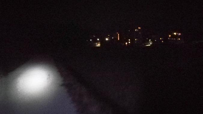 Alleine in der dunklen Nacht...