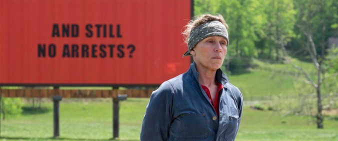 Three Billboards Outside Ebbing, Missouri (2017) | © Twentieth Century Fox Home Entertainment
