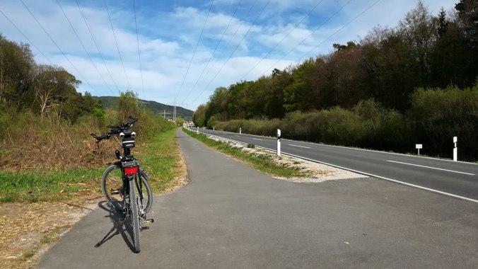 Beim Rückweg habe ich mich an Radwege und Straßen gehalten