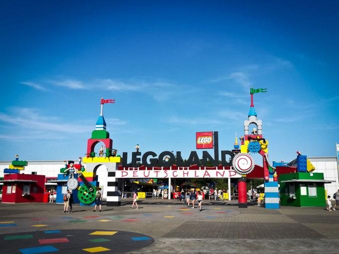 Ein letzter, wehmütiger Blick zurück auf das Legoland