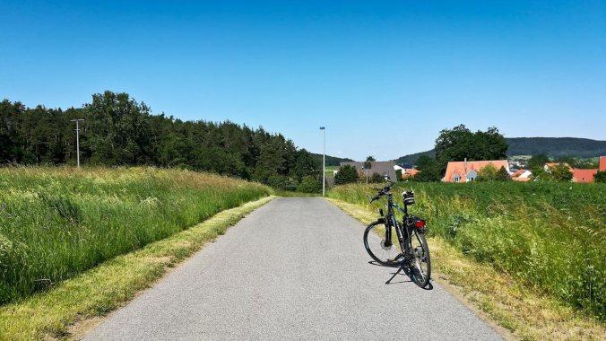...und an gleicher Position nur auf dem Rückweg, sprich ca. 10 km vor dem Ziel