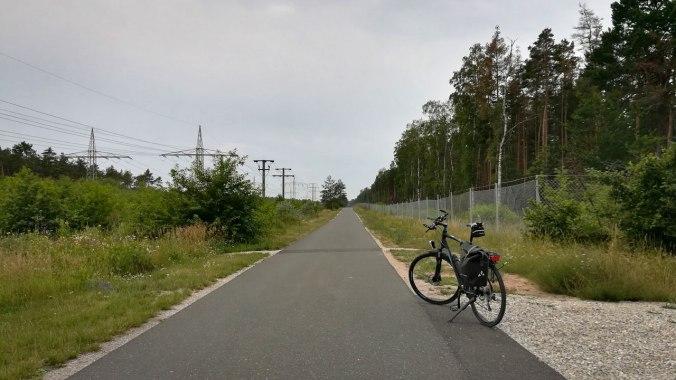 Freie Bahn auf der Hinfahrt