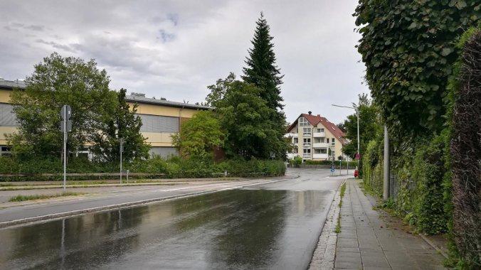 Ein kurzer Lauf durch den Regen