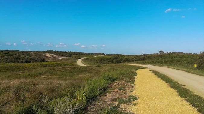 Ein Lauf durch die Dünen
