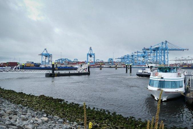 Der Start unserer Hafenrundfahrt