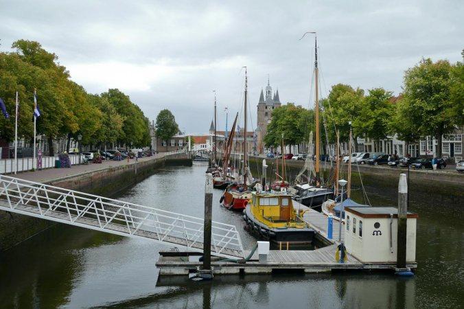 Der Binnenhafen von Zierikzee