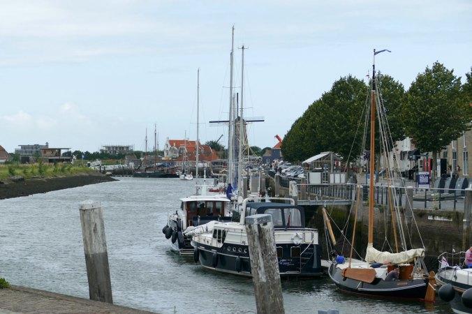 Der äußere Hafen von Zierikzee