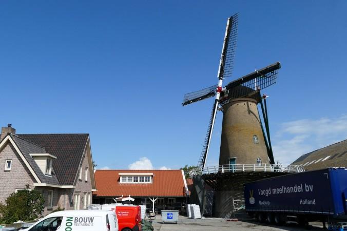 Auch hier haben wir eine Windmühle entdeckt