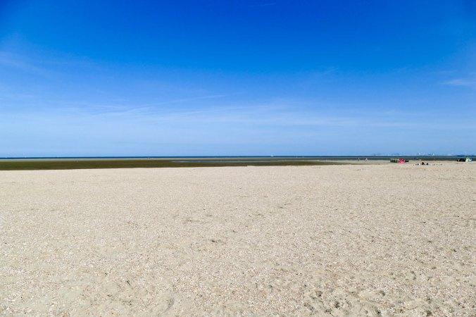 Ein Blick auf den unfassbar weitläufigen Strand von Ouddorp