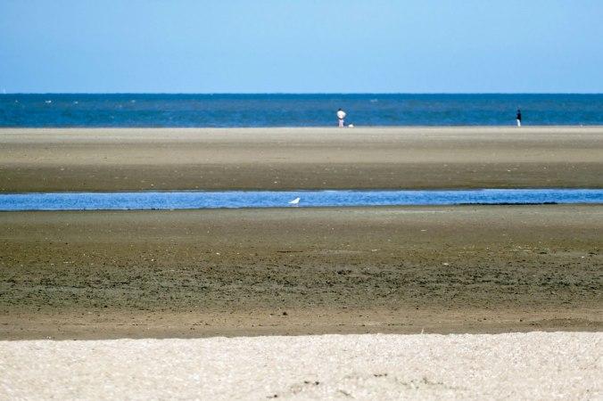 Bei Ebbe war es ein knapper Kilometer bis zum Meer