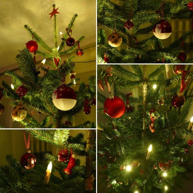 Ihr seht hier den teuersten, aber auch schönsten Weihnachtsbaum der letzten Jahre