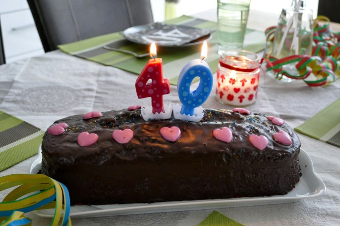 Das Zappelinchen hat mir ganz alleine einen Kuchen gebacken