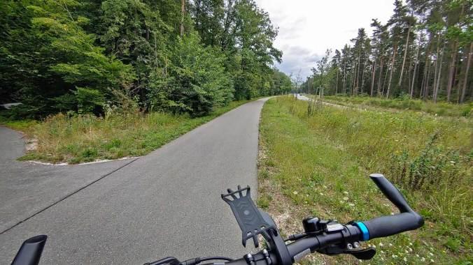 Heute war ich einmal wieder alleine auf dem Rad unterwegs...