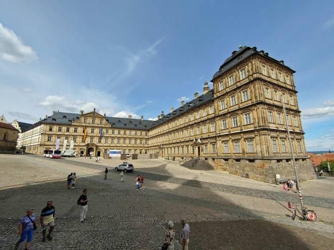 Die Neue Residenz in Bamberg