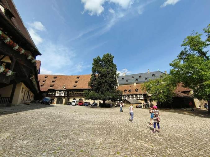 Die Alte Hofhaltung in Bamberg, wo unter anderem...