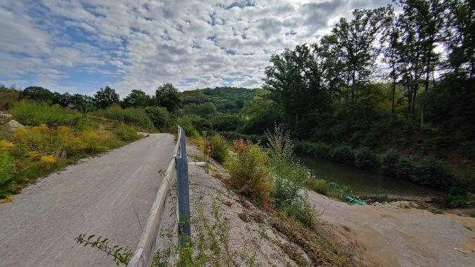 Es ist herrlich am Alten Kanal entlang zu laufen...
