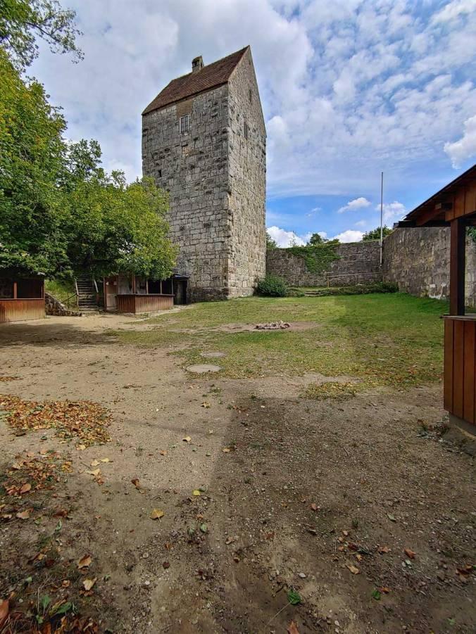 Der Hof der Schweppermannsburg