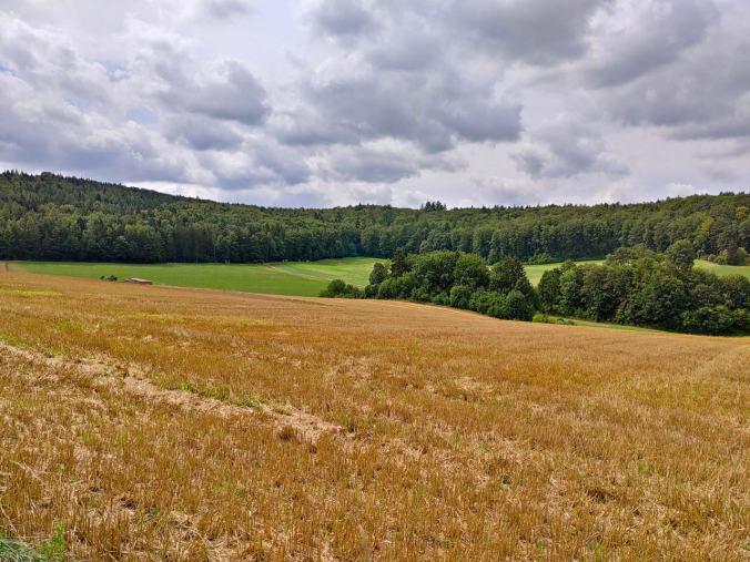 Über die weiten Felder rund um Kastl