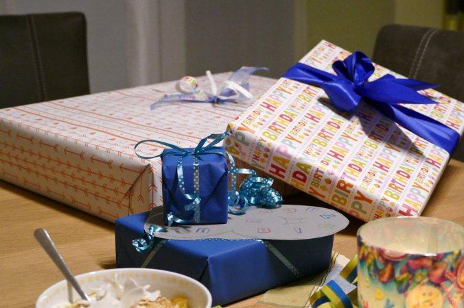 Nur ein kleiner Teil der unzähligen Geschenke