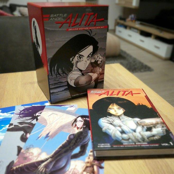 Battle Angel Alita – Deluxe Edition Series Box Set (Yukito Kishiro) | © Kodansha Comics
