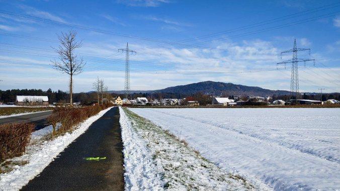 Immer noch Schnee und frostige Temperaturen