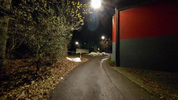 Das Laufen im Dunkeln habe ich wahrlich nicht vermisst