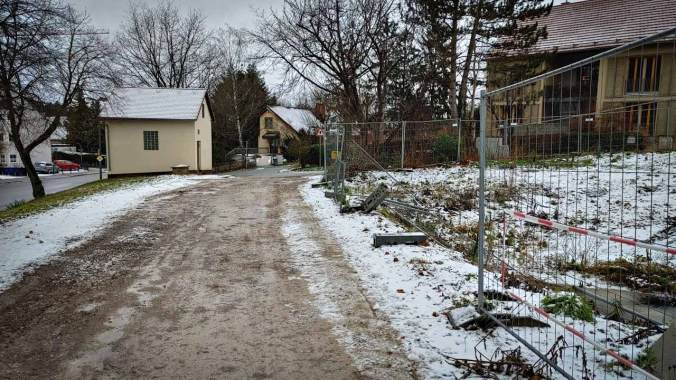Regen und Schneematsch beim letzten Lauf des Jahres