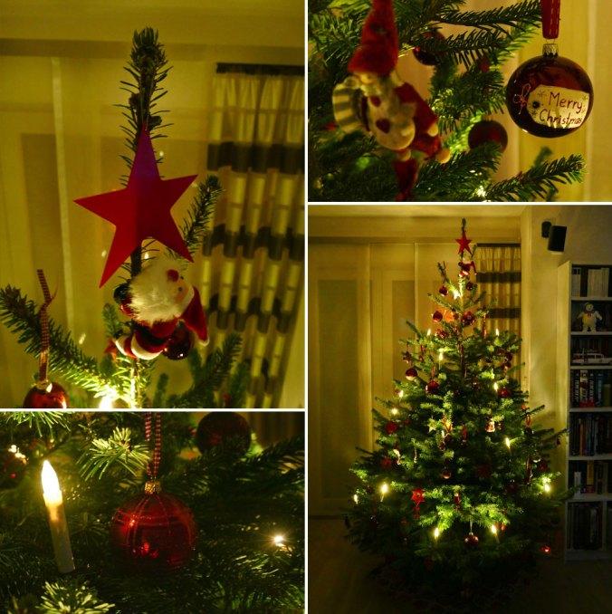 So früh wie dieses Jahr haben wir den Weihnachtsbaum noch nie geschmückt